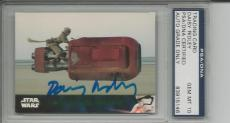 Daisy Ridley Rey Signed Topps Star Wars 2016 #23 Full Autograph Signature Psa 10