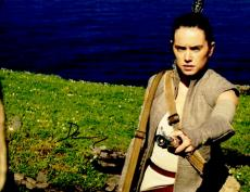 Daisy Ridley Signed - Autographed Star Wars: The Force Awakens Episode 7 REY 11x14 Photo - Guaranteed to pass PSA or JSA