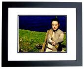 Daisy Ridley Signed - Autographed Star Wars: The Force Awakens Episode 7 REY 11x14 Photo BLACK CUSTOM FRAME - Guaranteed to pass PSA or JSA