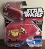 Daisy Ridley Signed Rey's Speeder Mattel Hot Wheels Star Wars - PSA DNA