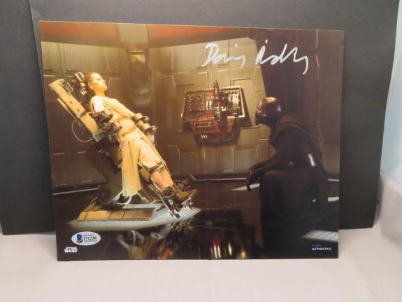 Daisy Ridley Signed Star Wars 8x10 Photo Rey Autographed Beckett Witnessed COA