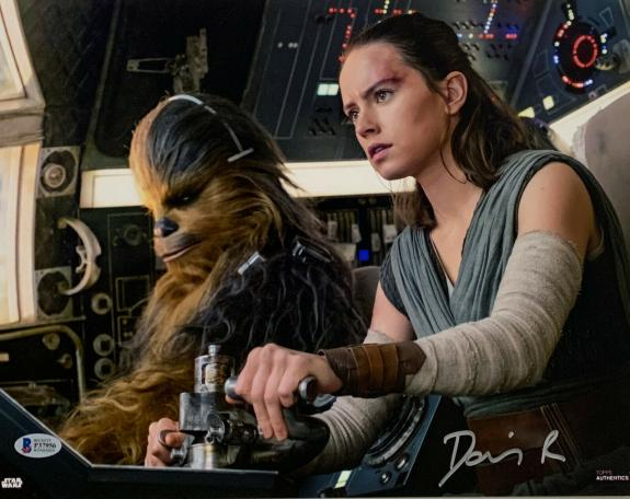 Daisy Ridley Autographed Signed Framed 11X14 Star Wars Rey