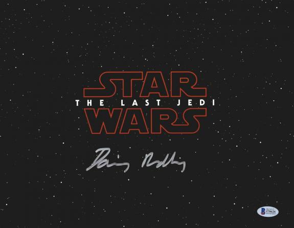 Daisy Ridley Signed Star Wars The Last Jedi 11x14 Photo - Rey Beckett BAS 24