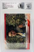 Daisy Ridley Signed Star Wars The Last Jedi Topps Rey - Beckett BAS Graded 10 97
