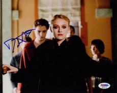 Dakota Fanning SIGNED 8x10 Photo Jane Twilight PSA/DNA AUTOGRAPHED