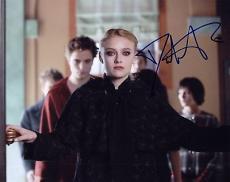 Dakota Fanning Signed 8x10 Photo w/coa Proof Twilight B