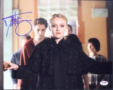 Dakota Fanning Twilight Signed 11X14 Photo Autographed PSA/DNA #L68925