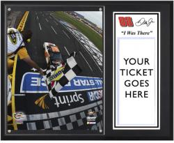 "Dale Earnhardt, Jr. 12 Sprint Showdown Race Sublimated 12"" x 15""""I WAS THERE"" Plaque"