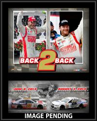 Dale Earnhardt Jr. 2014 Pocono Sweep Collage 12x15 Sublimated Plaque