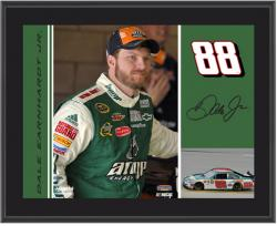 "Dale Earnhardt, Jr. 10"" x 13"" Sublimated Plaque - Mounted Memories"