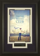 Dallas Buyers Club Matthew McConaughey Signed 11x17 Framed