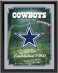 "Dallas Cowboys Team Logo Sublimated 10.5"" x 13"" Plaque - Mounted Memories"