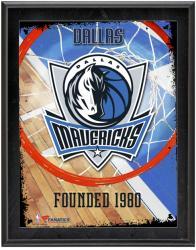 "Dallas Mavericks Team Logo Sublimated 10.5"" x 13"" Plaque"