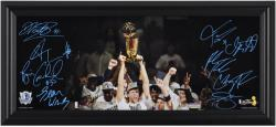 Dallas Mavericks Framed Mini Panoramic Photo - Mounted Memories
