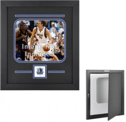 "Dallas Mavericks Deluxe 8"" x 10"" Horizontal Team Logo Frame"