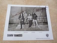 Damn Yankees Ted Nugent & M Cartellone Signed Autographed 8x10  Photo Guaranteed