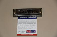 Dan Akroyd Signed Autographed Bluesband Harmonica Psa/dna #z31842 Blues Brothers