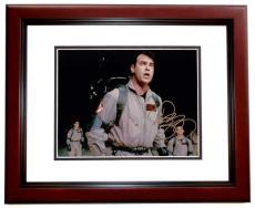 Dan Aykroyd Signed - Autographed GHOSTBUSTERS 8x10 inch Photo MAHOGANY CUSTOM FRAME - Guaranteed to pass PSA or JSA