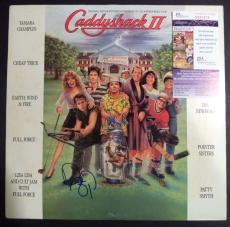 "Dan Aykroyd ""caddyshack"" Movie Signed Autographed Album Cover Jsa Coa Rare"