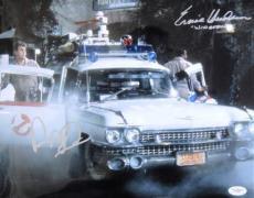 Dan Aykroyd Ernie Hudson Signed Ghostbusters 11x14 JSA