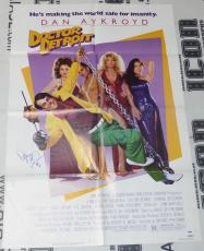 Dan Aykroyd & Fran Drescher Signed Original Doctor Detroit Movie Poster PSA/DNA
