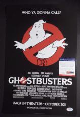 "Dan Aykroyd ""ghostbusters"" Signed Autographed 12x18 Movie Poster Psa/dna Coa"