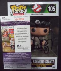 "Dan Aykroyd ""ghostbusters"" Signed Autographed Pop! Movies Figure Jsa Coa Rare A"