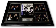 Dan Aykroyd Jim Belushi Hand Signed Poster Framed Original Photos Blues Brothers