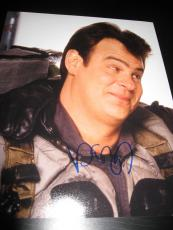 DAN AYKROYD SIGNED AUTOGRAPH 8x10 PHOTO GHOSTBUSTERS PROMO IN PERSON COA AUTO H