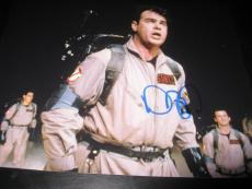 DAN AYKROYD SIGNED AUTOGRAPH 8x10 PHOTO GHOSTBUSTERS PROMO MURRAY COA AUTO X2