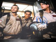 DAN AYKROYD SIGNED AUTOGRAPH 8x10 PHOTO GHOSTBUSTERS PROMO MURRAY COA AUTO X3