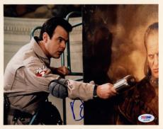 DAN AYKROYD SIGNED AUTOGRAPHED 8x10 PHOTO GHOSTBUSTERS PSA/DNA