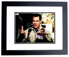 Dan Aykroyd Signed - Autographed Ghostbusters 11x14 inch Photo BLACK CUSTOM FRAME - Guaranteed to pass PSA or JSA