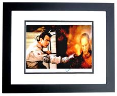 Dan Aykroyd Signed - Autographed GHOSTBUSTERS 8x10 inch Photo BLACK CUSTOM FRAME - Guaranteed to pass PSA or JSA