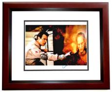 Dan Aykroyd Signed - Autographed GHOSTBUSTERS 8x10 Photo MAHOGANY CUSTOM FRAME
