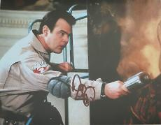 DAN AYKROYD Signed Autographed GHOSTBUSTERS Movie 8x10 PHOTO