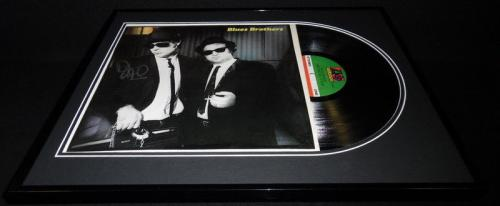 Dan Aykroyd Signed Framed 1978 Blues Brothers Record Album Display