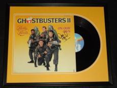 Dan Aykroyd Signed Framed 1989 Ghostbusters II Record Album Display