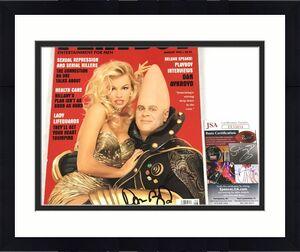 Dan Aykroyd Signed Playboy Magazine JSA Coa Pamela Anderson