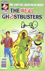 DAN AYKROYD signed *THE REAL GHOSTBUSTERS* Comic Book W/COA #2