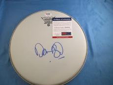 Dan Aykroyd The Blues Brothers Signed Drumhead PSA DNA COA Autograph