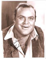 """DAN BLOCKER - Best Known for his Role as ERIC """"HOSS"""" CARTWRIGHT on the TV Series """"BONANZA"""" Passed Away 1972-Signed 8x10 B/W Photo"""