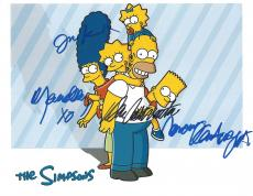 "DAN CASTELLANETA as HOMER, JULIE KAVNER as MARGE, NANCY CARTWRIGHT as BART, and YEARDLEY SMITH as LISA in ""THE SIMPSONS"" 11x8.5 Color Photo"