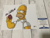 Dan Castellaneta Autographed Signed Homer 8x10 Photo Beckett BAS COA a
