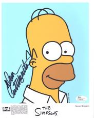 DAN CASTELLANETA HAND SIGNED 8x10 COLOR PHOTO         HOMER SIMPSON      JSA