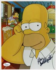 DAN CASTELLANETA HAND SIGNED 8x10 COLOR PHOTO     HOMER SIMPSON+A BEER      JSA