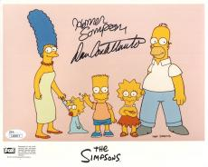 DAN CASTELLANETA HAND SIGNED 8x10 COLOR PHOTO     THE SIMPSONS      JSA