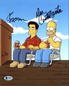 Dan Castellaneta & Ray Romano The Simpsons Signed 8X10 Photo BAS #C19151