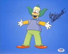 DAN CASTELLANETA Signed Autographed Krusty The Clown 8x10 Photo PSA/DNA #AA84379