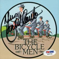 Dan Castellaneta Signed Bicycle Men Cd Booklet Cover PSA/DNA #W25745